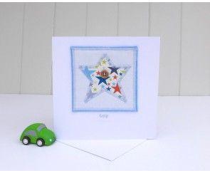 Little Star Greetings Card by Angelcake Designs