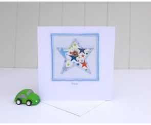 Little Star Greetings Card by Angelcake Designs
