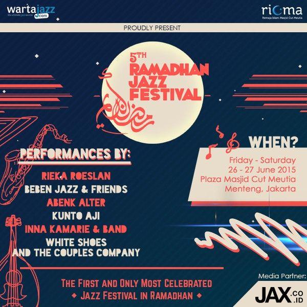 Ramadhan Jazz Festival 2015 - JAX