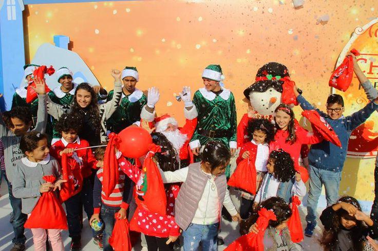A Christmas event like no other! #emaarmisr #uptowncairo #christmas
