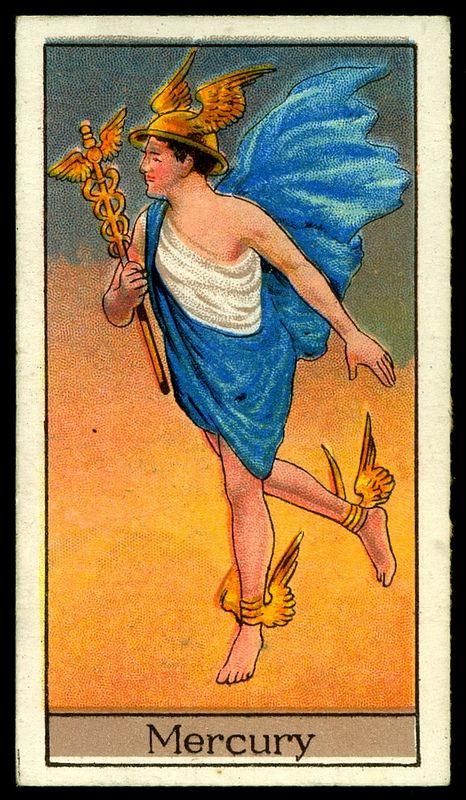 """22 best Cigarette Card. """"Mythological Gods & Goddesses ..."""