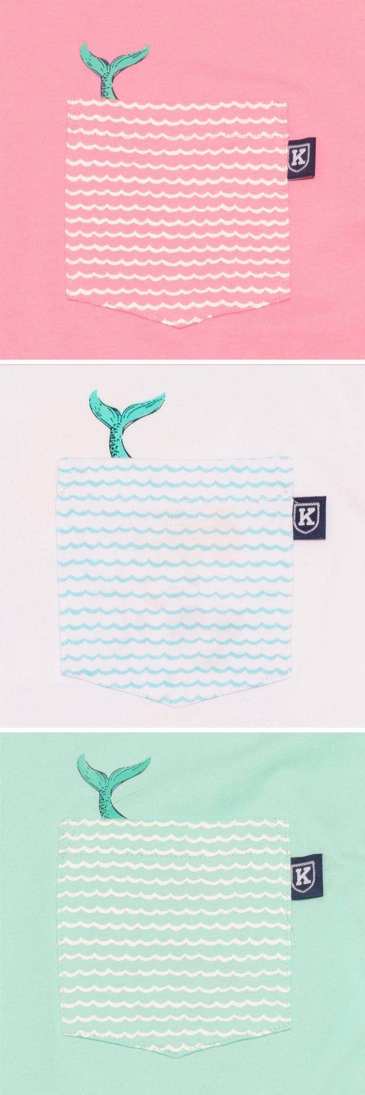 The Mermaid Hidden Pocket Tee™ by Krass & Co.