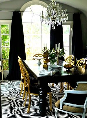 655 Best Dining Rooms Images On Pinterest  Dining Rooms Dining Enchanting Black And White Dining Room Table Inspiration
