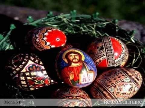 Oua incondeiate/rabbit eggs/painted eggs - YouTube