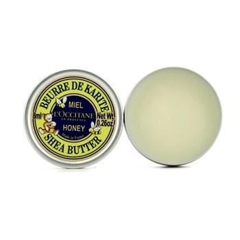 L'Occitane - Shea Butter Honey. состоит на 99% из масла карите и на 1% из меда. По консистенции очень плотный, поэтому я пользуюсь им только на ночь. Даже очень сухие трескающиеся губы готов полностью реанимировать после нескольких использований.