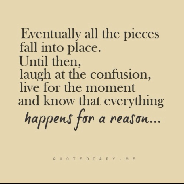 Pretty quote: Life Quotes, Remember This, Faith, Pieces Fall, Life Lessons, Truths, So True, Places, Inspiration Quotes