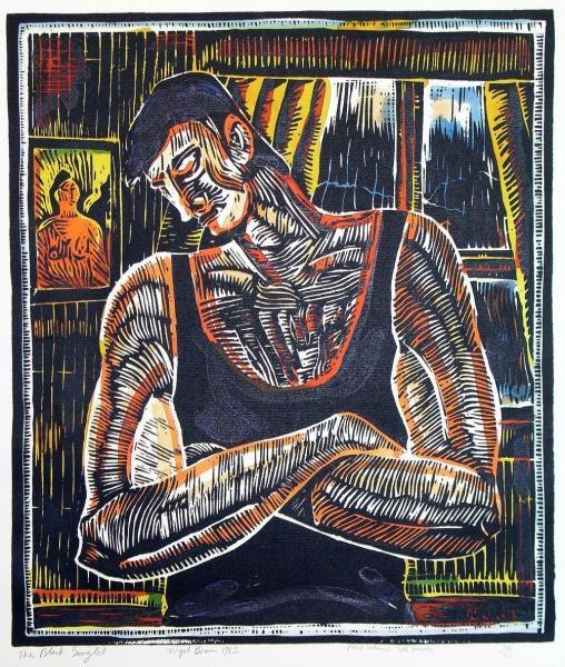 Nigel Brown, The Black Singlet
