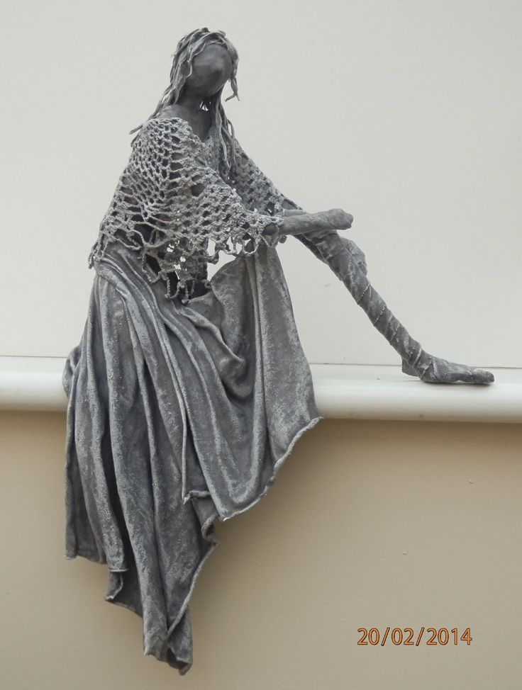 Eliza fabric sculpture by Sandra Raby