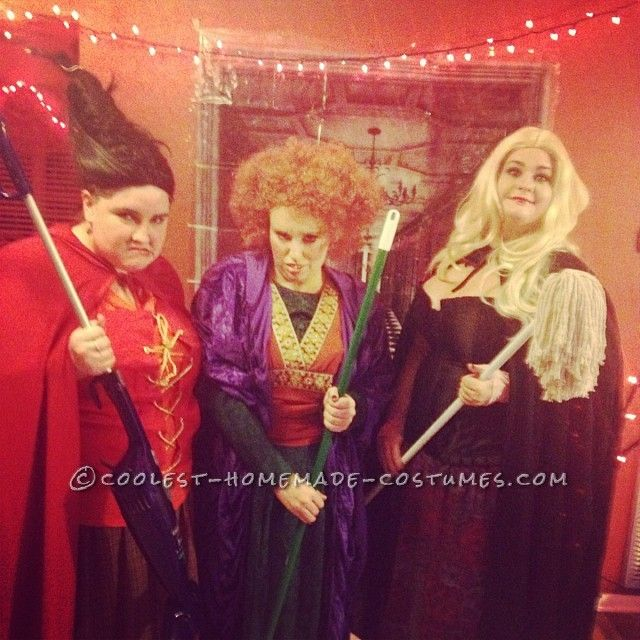 sanderson sisters hocus pocus diy girl group costume