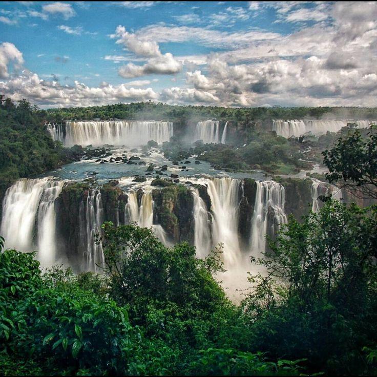 """Majestic place. Iguazu Falls, Brazil side. Photo by @everydayadventuring"""