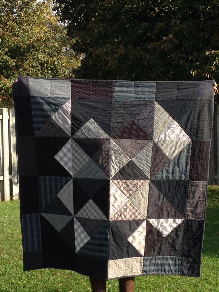 Mod Blocks with Japanese cotton dobby fabrics - pattern by Johanna Masko