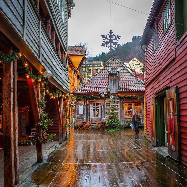 Bergen Norway's Second City and the Gateway to the Fjords. Photo by @svetlanachekalkina on Instagram.