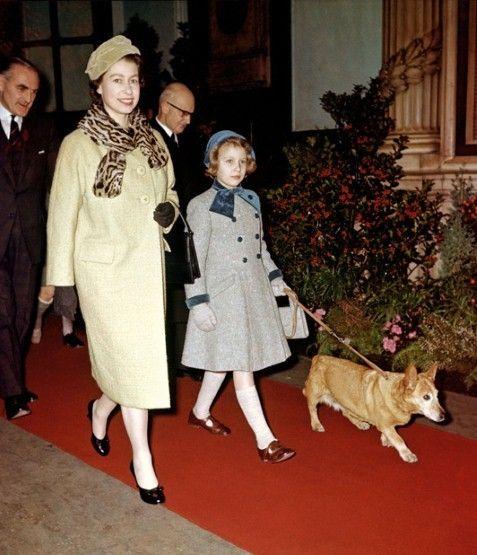 Queen Elizabeth with Anne