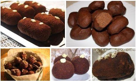Пирожное «Картошка» — 5 рецептов | NashaKuhnia.Ru