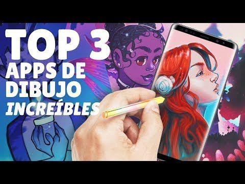 Top 3 Mejores Aplicaciones Para Dibujar En Android Happip Youtube Mejores Aplicaciones Dibujos Increibles Android