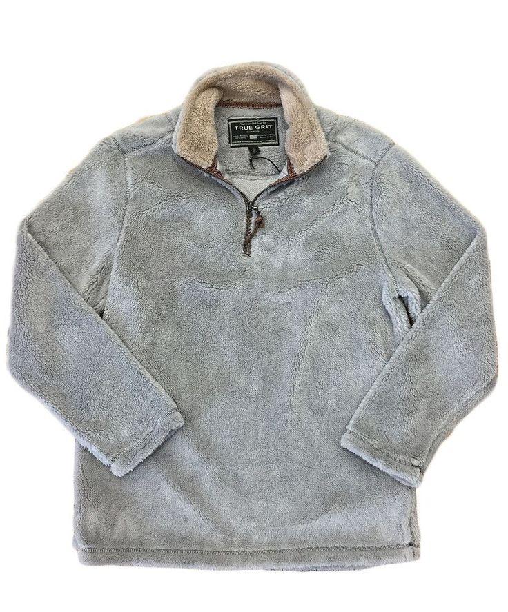 True Grit - Pebble Pile 1/2 Zip Pullover