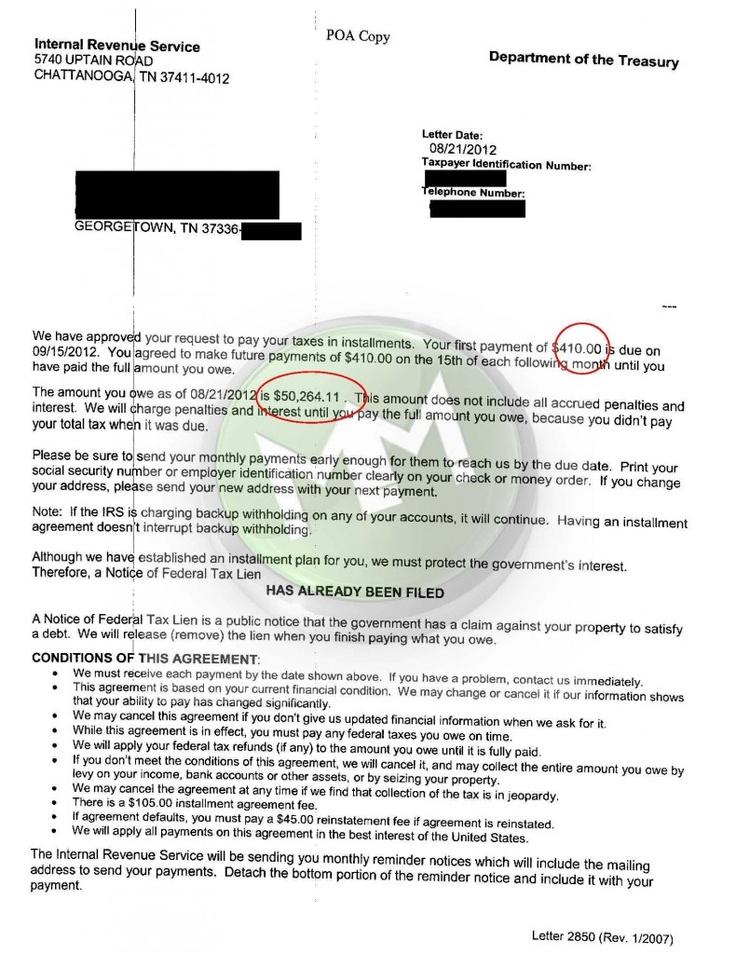 Mer enn 25 bra ideer om Irs Installment Agreement på Pinterest - financial release form