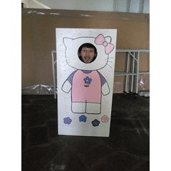 Photo Boards - 120cm high and 62cm wide with stands for R500.00