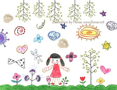 illustration, drawing, doodle,  doodling, linedrawing, Funsa, 일러스트, 드로잉, 펀사