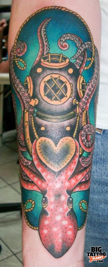 Claudia De Sabe - Colour Tattoo | Big Tattoo Planet