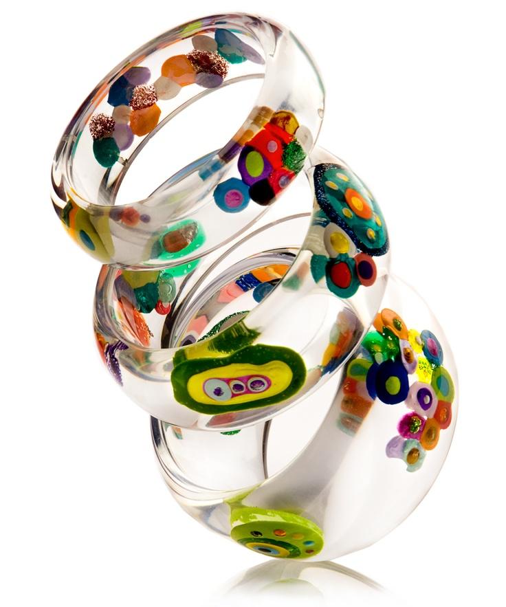 Pulseiras coleção Klimt - Sobral Design
