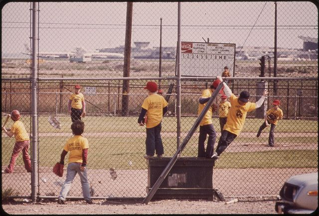 Logan Airport Area. Little League Game on Land Loaned by Massport | Flickr - Photo Sharing!