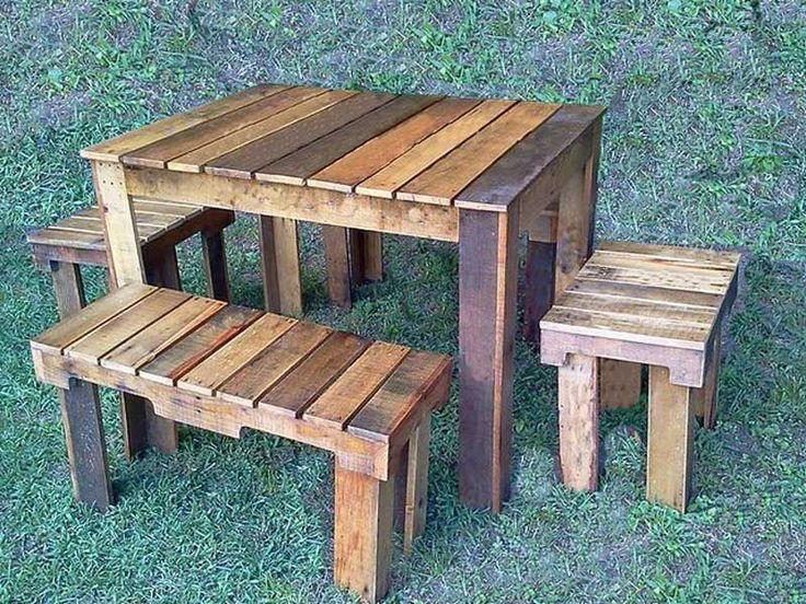 Moveis pallets madeira paletes 011 3975 2306 mesa palets cadeira de palete sofa de europaletes - Mesas de palets ...