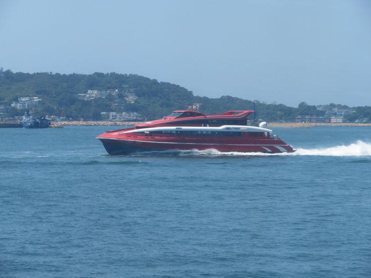 https://flic.kr/p/VMrmyM | universal mk 2008 | Type: high speed vessel Fleet: 45m tricat Shipyard: FBM Aboitiz marine inc. balamban cebu philipines Hull no.1001 Year build: 1997 Home port: hong kong Vip x1(4 person) Luxury seat 45 person Ordinary seat 282 person Capacity: 333 Length: 44.9m Beam: 11.8m Water length: 40m Ship high: 4.77m Draught: 2.40m Gross tonnage: 602t Deadweight: 182t Main engine 2x caterpillar solar Taurus gas turbines 2x 4200kw@13000rpm Water jet 2x twin kamewa 90511…
