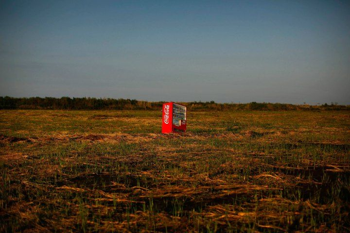 Broken Lives of FukushimaFukushima Prefecture, Vending Machines, Japan, Exclusively Zone, Cocacola, Coca Cola, Abandoned Rice, Rice Fields, Tsunami