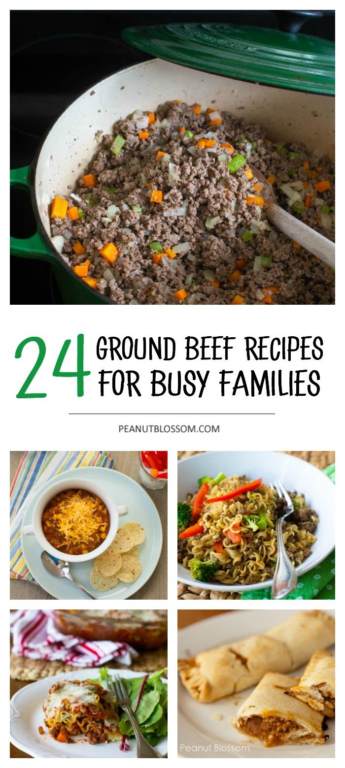 24 Ground Beef Recipes You Can Make In A Pinch Recipe Ground Beef Recipes Beef Recipes Ground Beef Recipes For Dinner