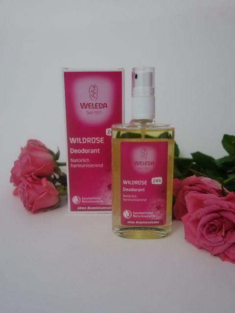 All my cosmetics: Růžový deodorant Weleda