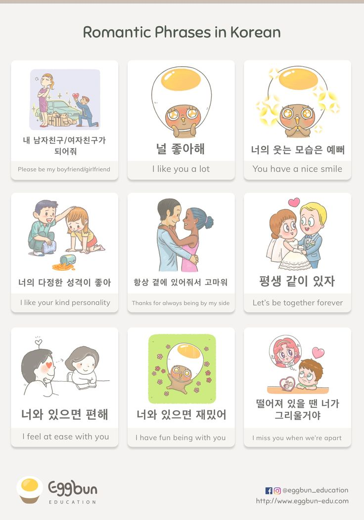Romantic Phrases in Korean Chat to Learn Korean w…