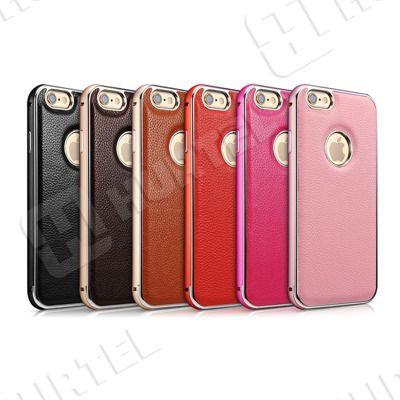 Etui i pokrowce | Skórzane etui z bumperem Leather Series do iPhone 6 w kolorze różowym | EKLIK - Sklep GSM, Akcesoria na tablet i telefon