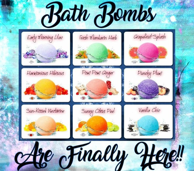 Bath Bombs are here! 😍