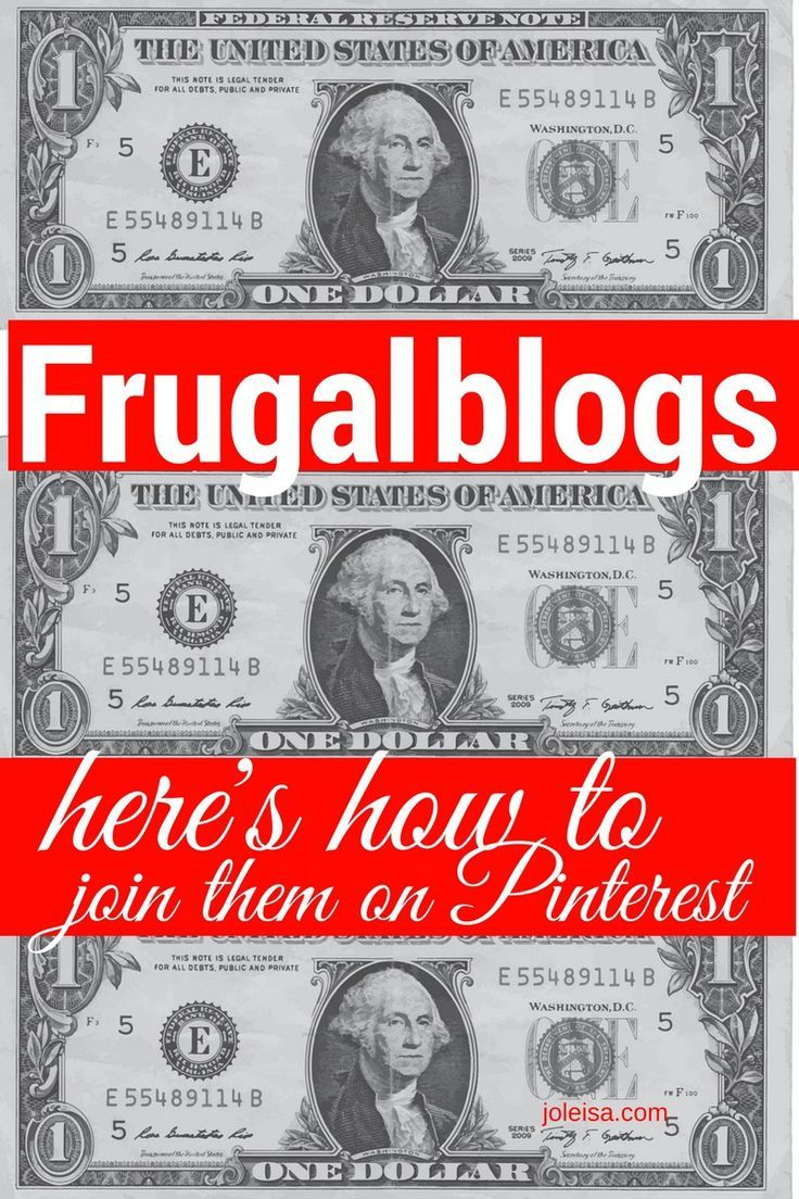 Frugal Blogs and How to Join                                                                                                                                                                                 More
