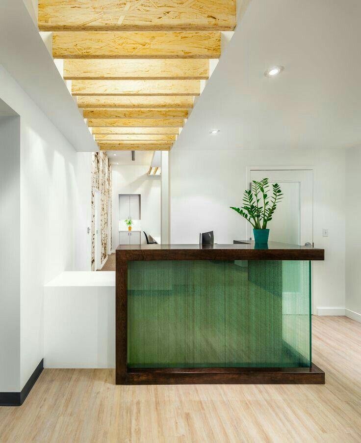 I like the use of wood beams
