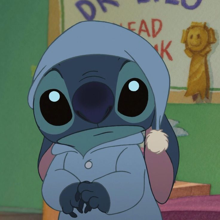 Stitch tiene sueño