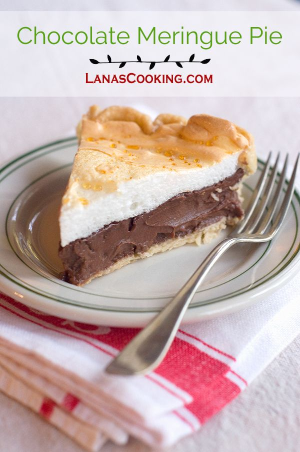 Lemon meringue pie, Coconut cream pies and Chocolate meringue pie ...