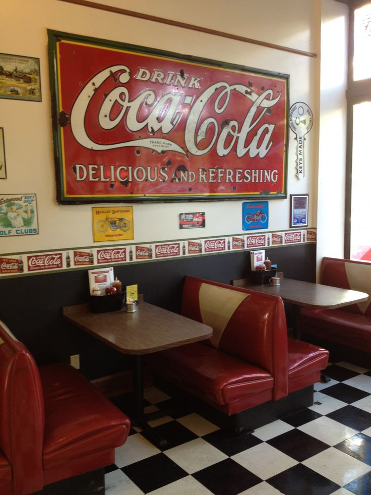 Coca Cola has many advertisements in  Chattanooga, TN--home of its first bottling company.
