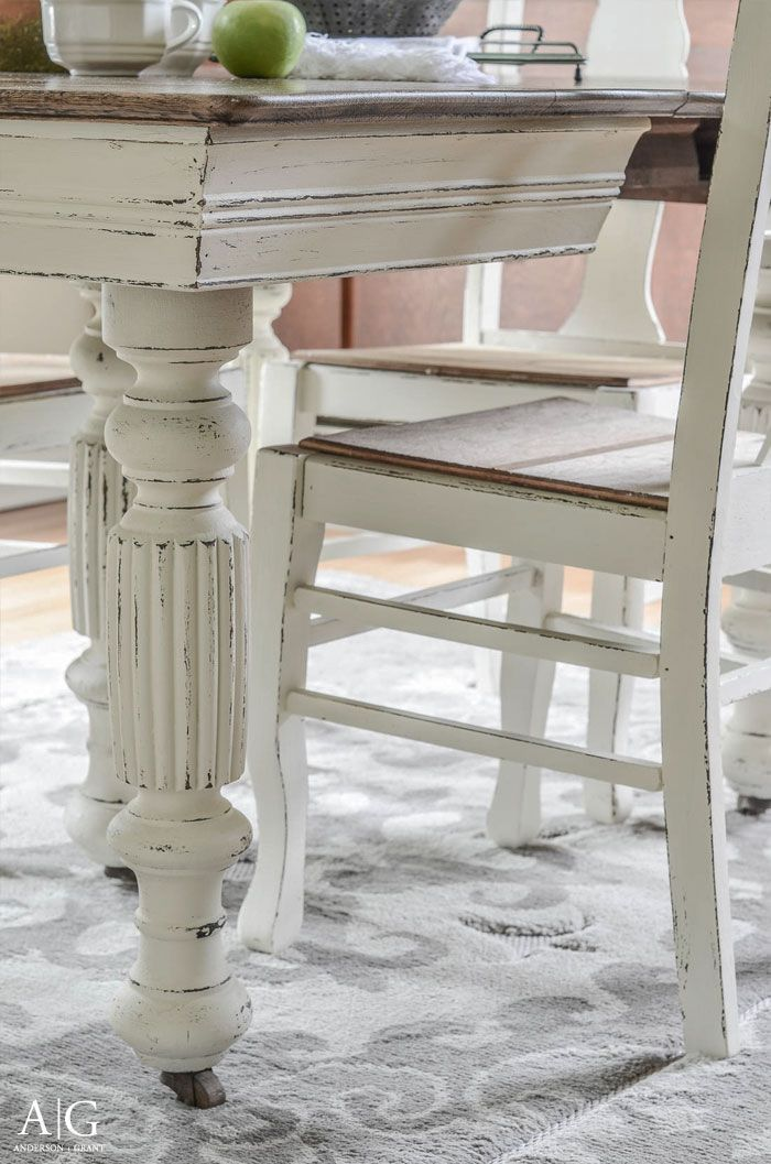 625 best images about painted furniture ideas on pinterest for Painting dining room table ideas
