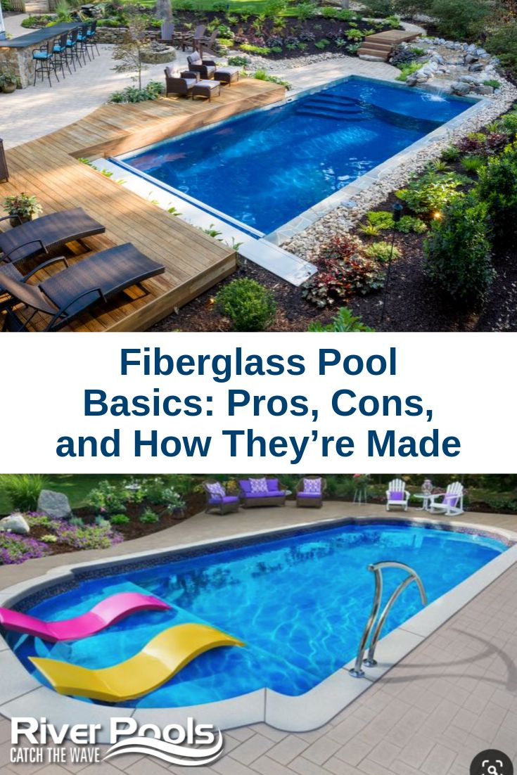 Fiberglass pool basics pros cons and how theyre made