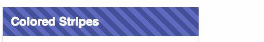 https://css-tricks.com/stripes-css/