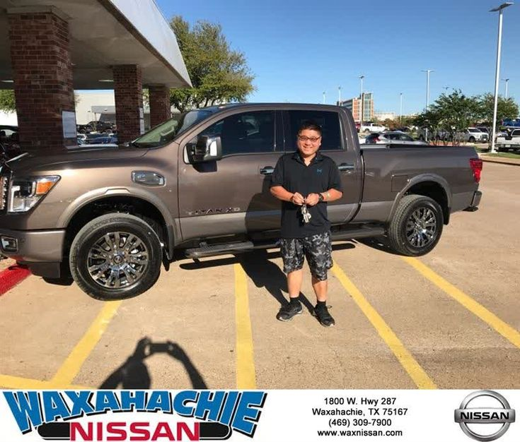 Congratulations Jae on your #Nissan #Titan XD from Radford Pannell at Waxahachie Nissan!  https://deliverymaxx.com/DealerReviews.aspx?DealerCode=Y811  #WaxahachieNissan