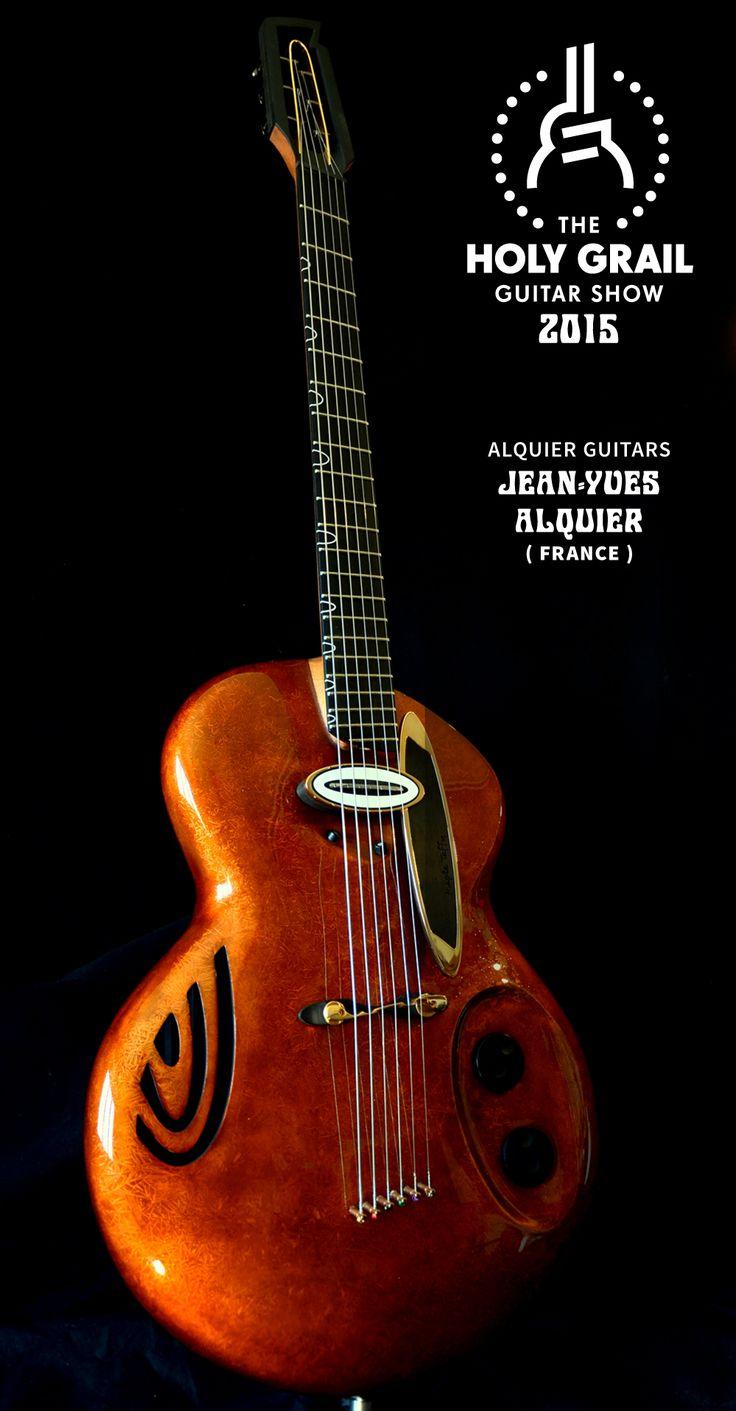 Exhibitor at the Holy Grail Guitar Show 2015: Jean –Yves Alquier, Alquier Guitars, France. http://www.alquierguitar.com, http://www.facebook.com/luthieralquierconcept, http://holygrailguitarshow.com/exhibitors/alquier/