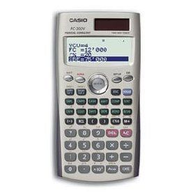 CALCULADORA FINANCIERA CASIO FC 200
