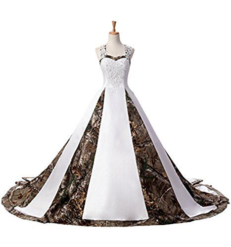 New BEALEGAN Lady Women's Camo Wedding Dresses Camouflage Satin Bridal Gowns online. Find the  great Adrianna Papell Dresses from top store. Sku iyxm32322ialq69267