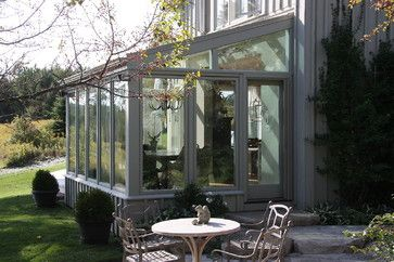 Custom Glass Porches - traditional - porch - toronto - Perma-Wood Solariums & Additions