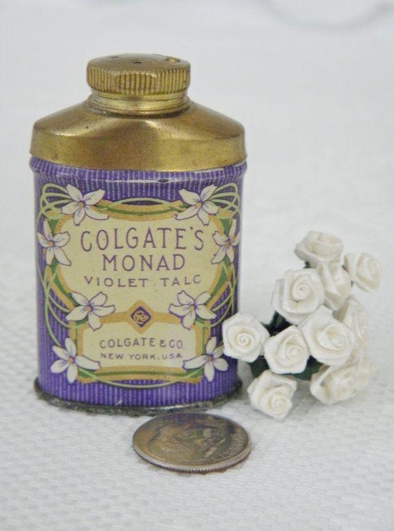 Colgate's Monad Violet Talc