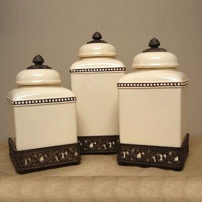 42 Best Canisters Images On Pinterest Kitchens Bread Boxes And Boxes