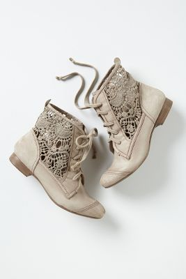 Irene Lace Booties #anthrofave perfect for all seasons